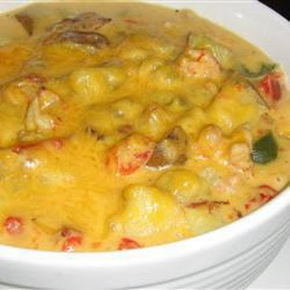 Creamy Crayfish and Potato Soup