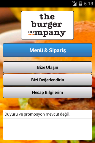 The Burger Company