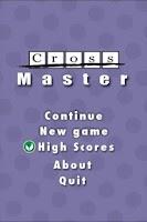 Screenshot of CrossMaster FREE