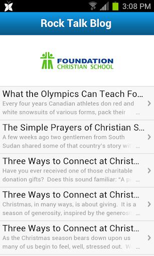 Foundation Christian School