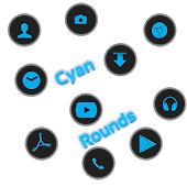 CyanRounds Icon Pack