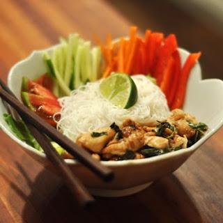Drunken Noodle Salad.