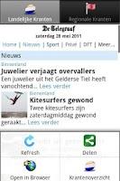Screenshot of Kranten NL PRO (Nederlandse)