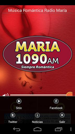 【免費娛樂App】Romantic Music Radio María-APP點子