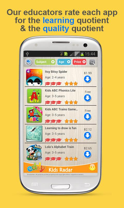 Kids radar best learning apps android apps on google play