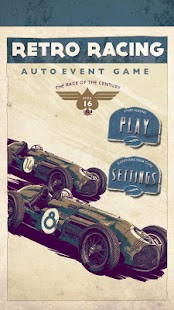 3D Car Racing RETRO - FREE - screenshot thumbnail