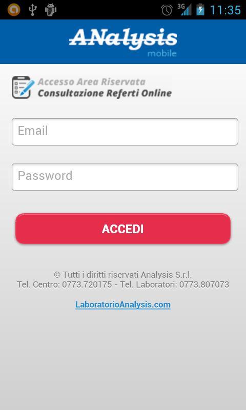 Lab Analysis- screenshot