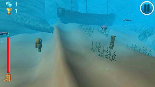 Treasure Hunt Diving 3D