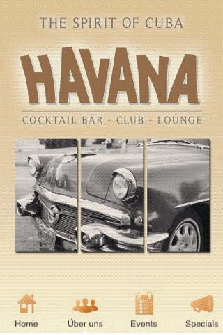 Havana Cocktailbar Dillingen - screenshot