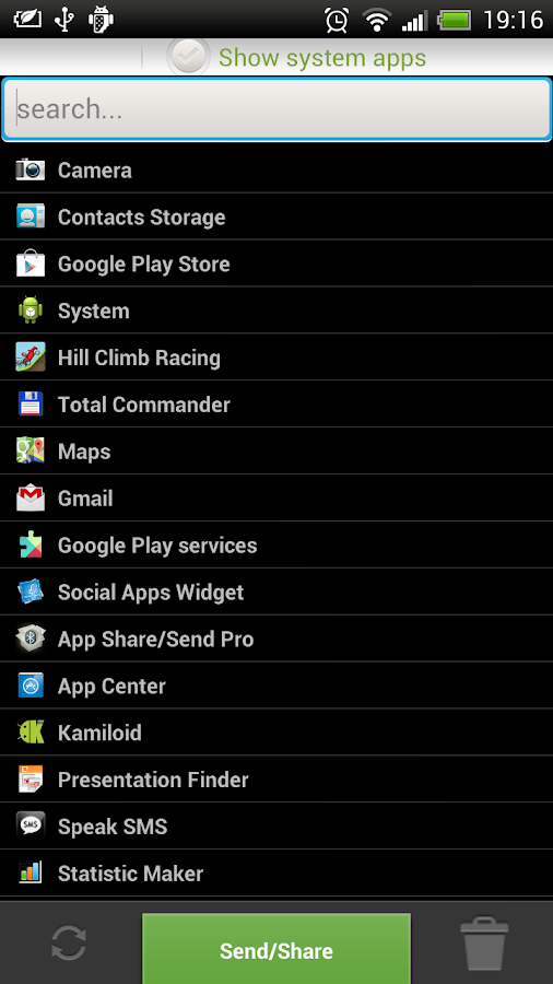 Apk/App Share/Send Bluetooth - screenshot