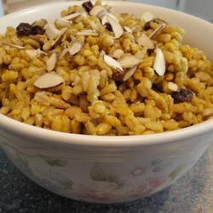 Curried Barley Pilaf Recipe
