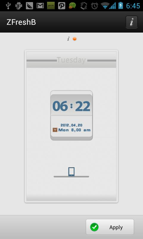 ZFreshB GO Locker Theme - screenshot
