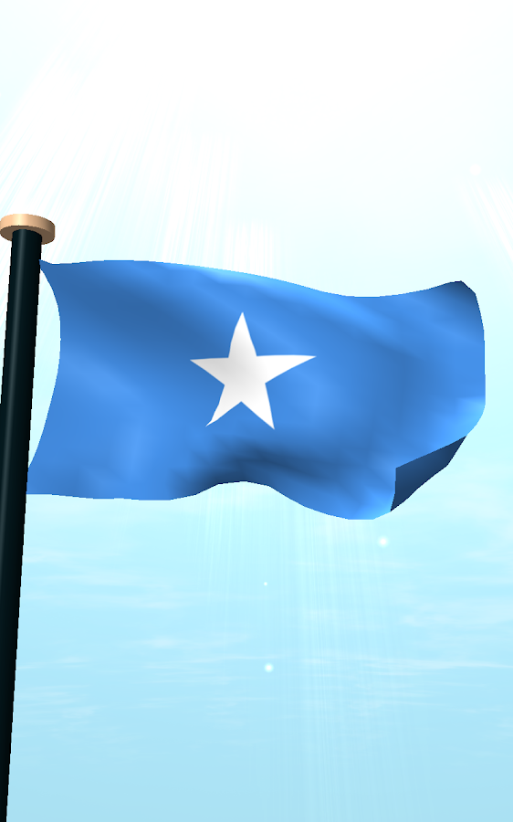 Somalia Flag 3D Live Wallpaper  Android Apps on Google Play