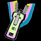 Unzip icon