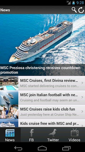 CSN: MSC Cruises