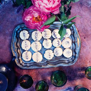 Rose Water Shortbread Cookies Recipe