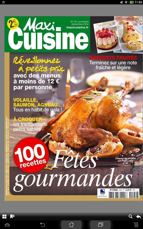 Nice magazine de cuisine photos magazine de cuisine for Abonnement cuisine et vins de france