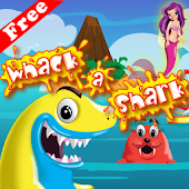 Whack a shark Casual Game icon