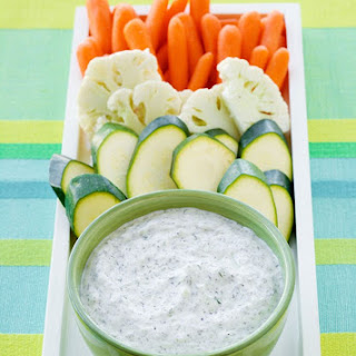 Ranch Cucumber Dip.
