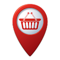 Supermarket Locator / Finder icon