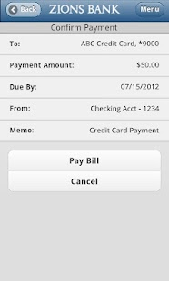 Zions Bank Mobile Banking - screenshot thumbnail