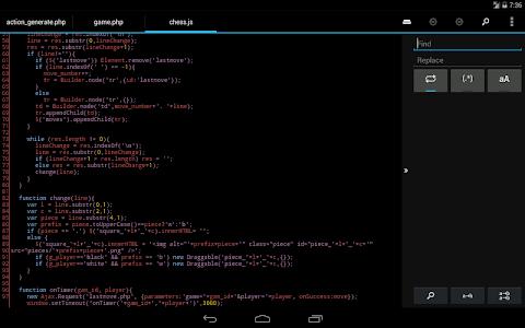 DroidEdit Pro (code editor) v1.23.1