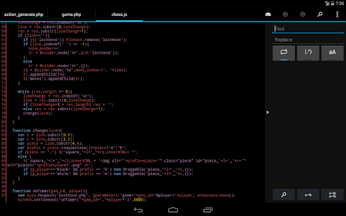 DroidEdit Pro (code editor) - screenshot thumbnail