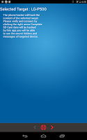 Screenshot of Bluetooth Phone Hacker (PRANK)