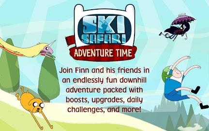 Ski Safari: Adventure Time Screenshot 1