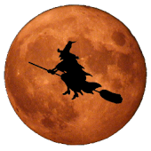 Halloween 3D Witch's Moon LWP
