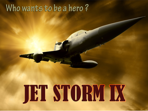 JET Storm IX - Metal shooter