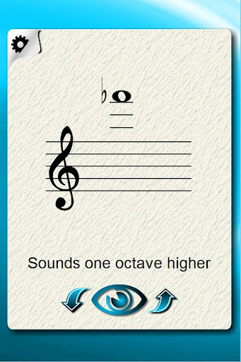 Xylophone Notes Flash Cards