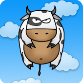 Flying Cow Live Wallpaper PRO