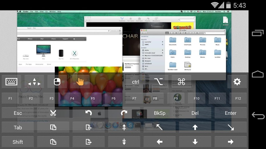 android Remotix VNC RDP Remote Desktop Screenshot 14