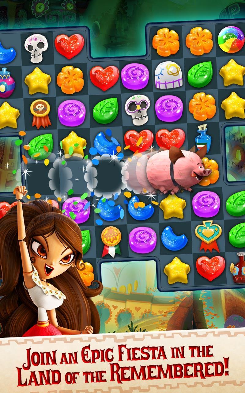 Sugar Smash: Book of Life - Free Match 3 Games. Screenshot 13