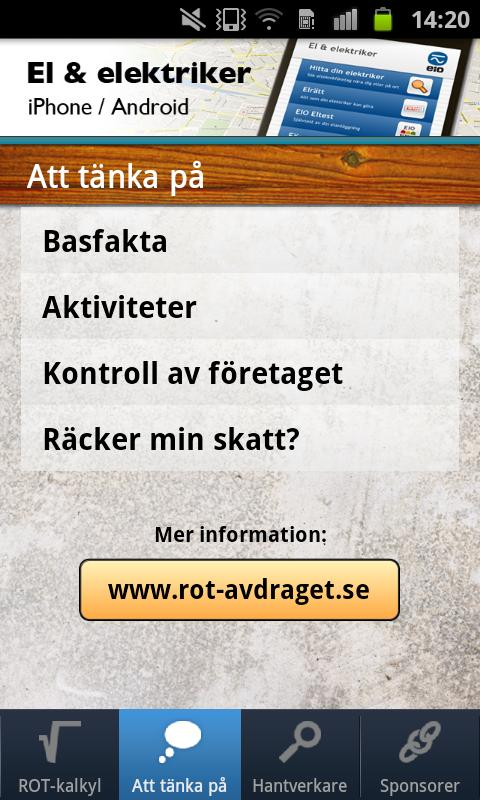 ROT-avdraget- screenshot