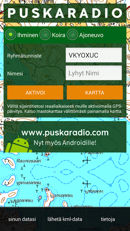 PuskaRadio - screenshot