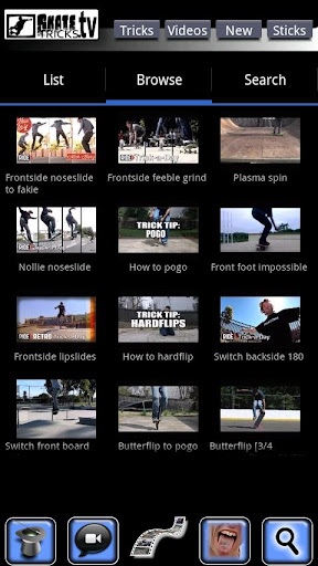 Skate Tricks TV SlowMotion Pro
