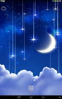 Screenshot of Starfall Live Wallpaper