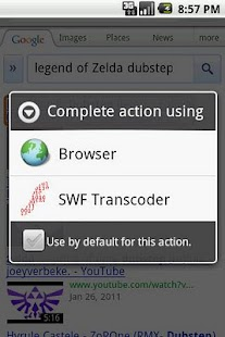 SWF Transcoder - screenshot thumbnail