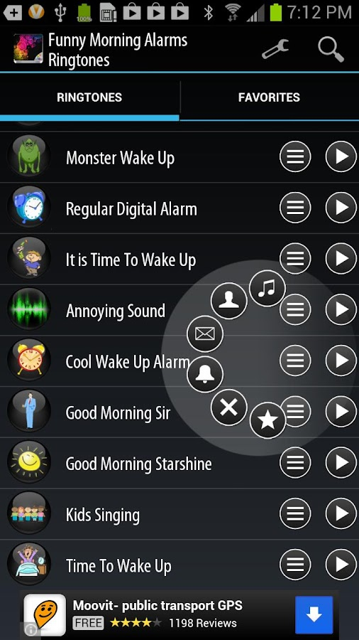 how to set google play music as alarm