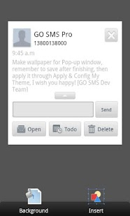 GO SMS Pro Theme Maker plug-in - screenshot thumbnail