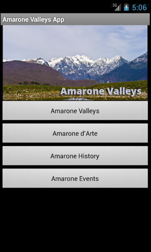 Amarone Valleys