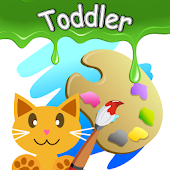 QCat - Toddler Coloring Book