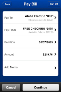 BOH Mobile Banking- screenshot thumbnail