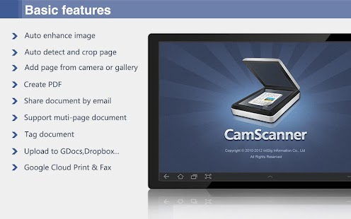 CamScanner HD - Scanner, Fax - screenshot thumbnail