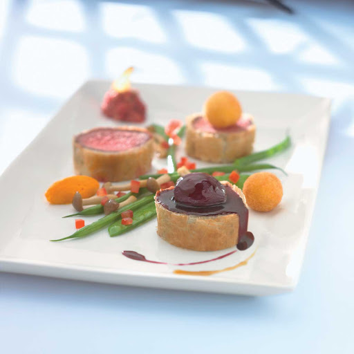 Murano Les Petits - Les Petits served at Celebrity Cruises's Murano restaurant.