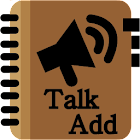 Talk Add icon