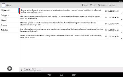 Clipper - Clipboard Manager Screenshot 4