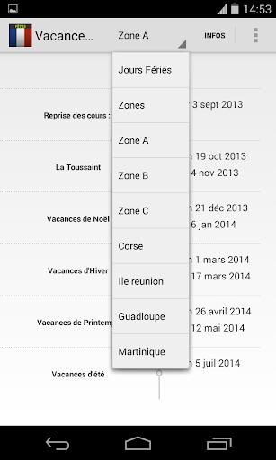Vacances Scolaires 2015 2016
